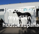 Umpitraileri, Hevostraileri, hevosenkuljetusperävaunu MP-500H, Lohja