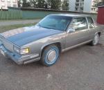 Cadillac Coupe De Ville, 6 hengen auto, vm. 1988, katsastettu, toimiva, hyvässä kunnossa, alkuperäisillä osilla