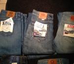 Naisten uusia farkut, 50 paria, Organic cotton