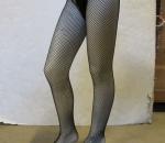 Fishnet tights verkkosukat, 100% nylonia, 1 ltk, n. 200 paria