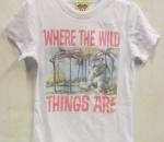 Wild-Things lasten t-paita, n. 5-6 vuotiaille, 20 kpl