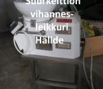 Vihannesleikkuri Hällde RG-81 + n. 20 terää, käytetty