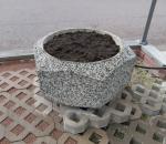 Kukkaruukku, betonia, n. 85 x 45 cm
