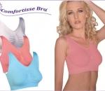 Comfortisse Bra rintaliivit, yksi koko XL / 85, 6 eri väri, 10 pkt ( 3 kpl pakkauksessa ), yhteensä 30 kpl