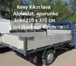 Lava, kevyt KA:aan tai pakettiautoon, alulaidat