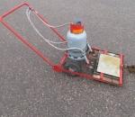 Asfalttilämmitin, asfalttisulatin, asfalttityökone, käytetty