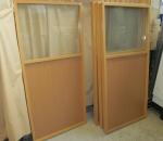 Sisäseinä / sermi ikkunalla, 4 kpl