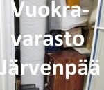 Pienvarasto, vuokravarasto, minivarasto,  n. 4 m² (19j)Jär