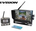 Langaton peruutuskamerajärjestelmä S-Vision 1705-00020, käytetty
