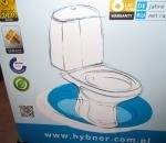 WC-istuin Hybner, kokonainen paketti, käyttämätön