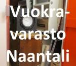 Pienvarasto, vuokravarasto, minivarasto,  n. 4,5 m² (002)Naa