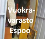 Pienvarasto, vuokravarasto, minivarasto,  n. 4  m² (147)laa