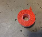 Hintaetiketti, hintatarra, oranssi 26x12 mm, 35 rulla