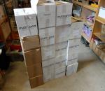 Tulostustarra, erilaisia n. 19 ltk, muutamat laatikot vajaa laatikoita