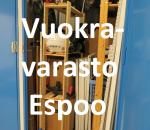 Pienvarasto, vuokravarasto, minivarasto, n. 3 m² (212)kiv