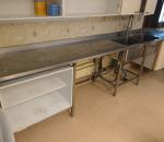 Rosterinen allastaso, hana, alakaappi ja alahylly, 3800 x 620 x 890 (26)