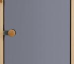 Saunanovi, kokolasinen, harmaa (savulasi), 7 x 19,  1 kpl