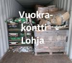 Pienvarasto, vuokravarasto, minivarasto,  n. 25 m² (022)loh