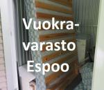Pienvarasto, vuokravarasto, minivarasto,  n. 4 m² (330)ola