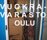 Vuokravarasto 2,5 m2, Oulu (9116)