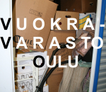 Vuokravarasto,  3 m2, Oulu (9024)