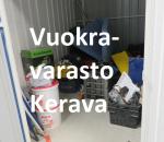 Pienvarasto, vuokravarasto, minivarasto, n. 4 m² : 227ker.