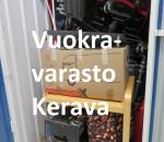 Pienvarasto, vuokravarasto, minivarasto, n. 2 m² : 335ker.