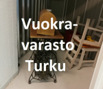 Pienvarasto, vuokravarasto, minivarasto,  n.  m² (264)tku