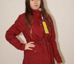 Naisten takki, punainen, koot M- XXL, 20 kpl