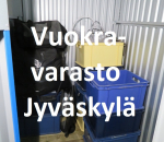 Pienvarasto, vuokravarasto, minivarasto,  n. 1 m² 186jyv.