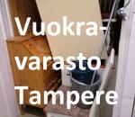 Pienvarasto, vuokravarasto, minivarasto, n. 1,5 m² : 110tre