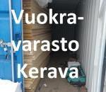 Vuokravarasto, minivarasto, pienvarasto, n. 14 m² : 051ker