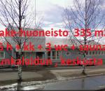 Liike- / toimistohuoneisto,  yhtensä 335 m² , vuokrattu, hyvä tuotto