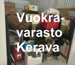 Pienvarasto, vuokravarasto, minivarasto,  n. 10 m² , 699ker