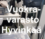 Pienvarasto, vuokravarasto, minivarasto, n. 5 m² : 079hyv