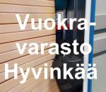 Pienvarasto, vuokravarasto, minivarasto, n. 4 m² : 087hyv