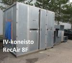 IV kone RECAir  8F, Halliin