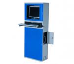 Terminal cabinet, flat-screen