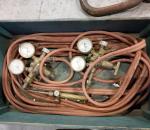 Kaasuhitsaus letkut ja mittarit, letkut n. 10 m