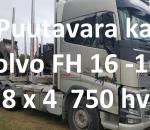 Puutavara kuorma-auto Volvo FH16 750 hv -16