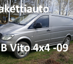 Pakettiauto MB Vito 115 cdi 4x4 -09