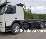Volvo FM12 6x2, Vaihtolavalaite EL-18 420 hv vm. 99