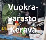 Pienvarasto, vuokravarasto, minivarasto, n. 14 m² : 012kerc