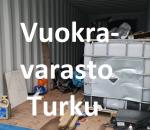 Pienvarasto, vuokravarasto, minivarasto, n. 14 m² : 508tkup