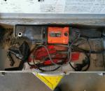 148. Puukkosaha AGP RS26, varaosiksi tai korjattavaksi.