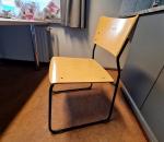 T37. Pinottava vaneri tuoli 12 kpl, Matti-tuolit Isku