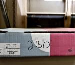 230  Hiekkapaperi santaajan nauhaa 75 x 225  n. 10 kpl