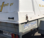 Kevytperävaunu  1-akselinen, kippaava, jarruton, Sport-Trailers   WBK-204