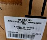S-244  Laatikollinen korrosion estö öljyä Arcanol  spraypullossa