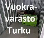 Pienvarasto, vuokravarasto, minivarasto, n. 2 m² : 571tkup